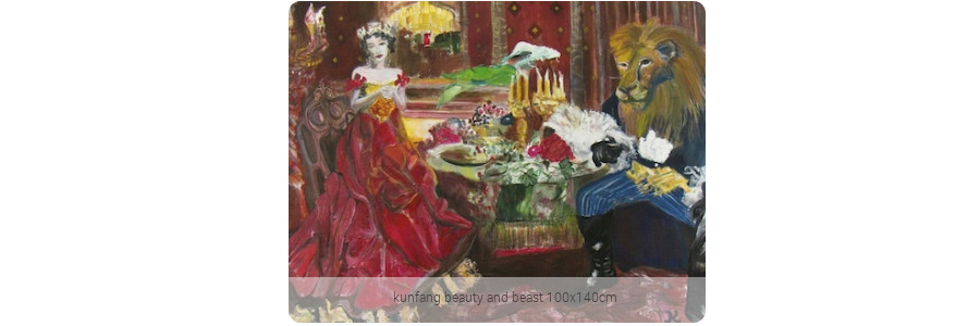 kunfang_beauty_and_beast_100x140cm
