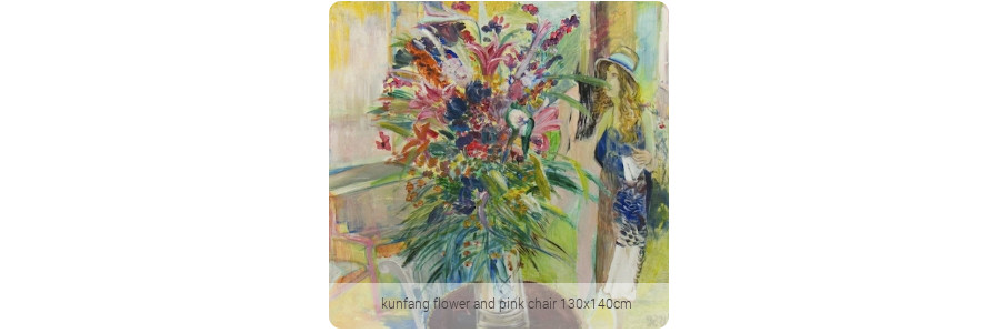 kunfang_flower_and_pink_chair_130x140cm