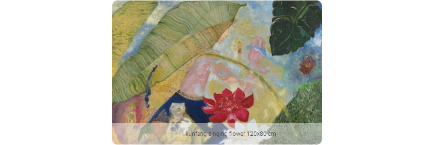 kunfang_singing_flower120x80cm